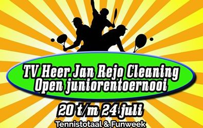 TV Heer Jan Rejo Cleaning Open Junioren toernooi